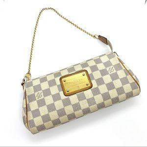 Louis Vuitton LV Damier Checkered White Pouchette